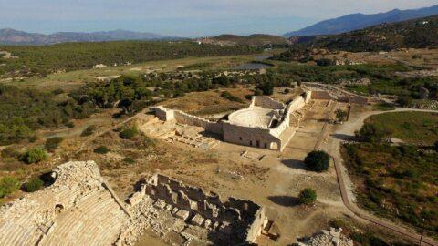 Antik kent Patara'da ziyaretçi rekoru