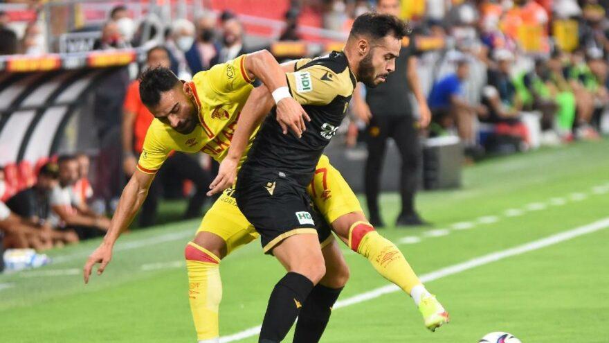Göztepe Yeni Malatyaspor maçında üç puan tek golle geldi