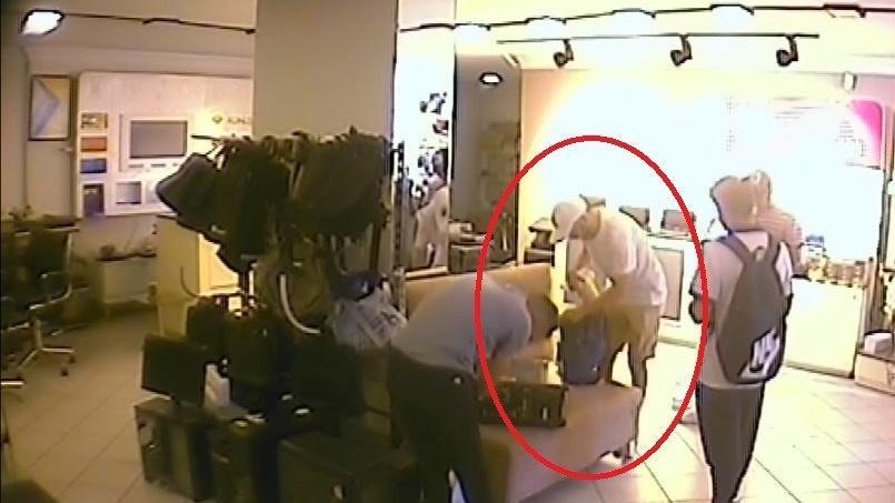 Kızının çantasını çalan hırsıza seslendi: Getirmezsen ihbar edeceğim