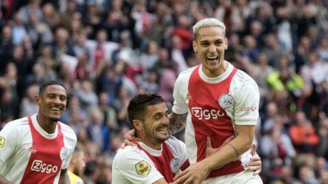 Beşiktaş'ın rakibi Ajax'tan farklı galibiyet: 5-0