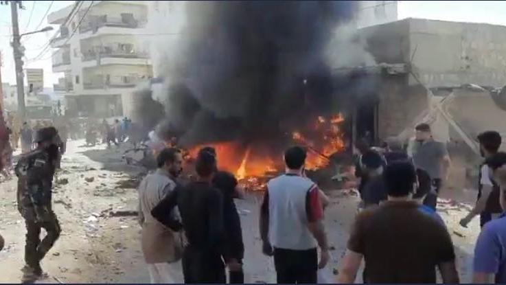 MSB duyurdu: Afrin'e bombalı saldırı düzenlendi