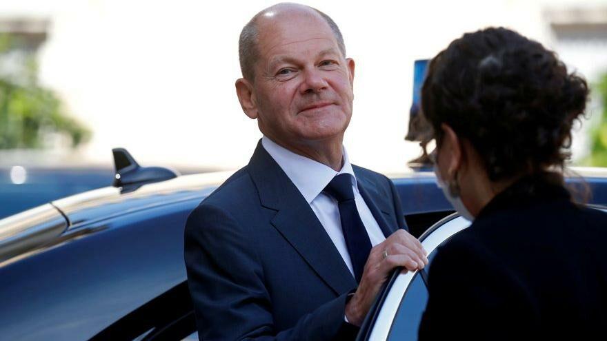 Başbakanlığa giden Scholz'a büyük gözdağı: Baskın yapıldı