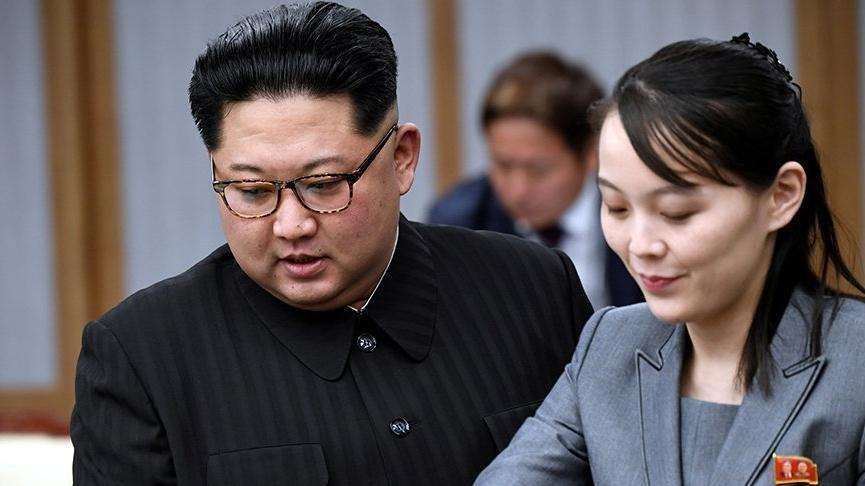 Kuzey Kore lideri Kim'in kız kardeşinden Güney Kore'ye tepki