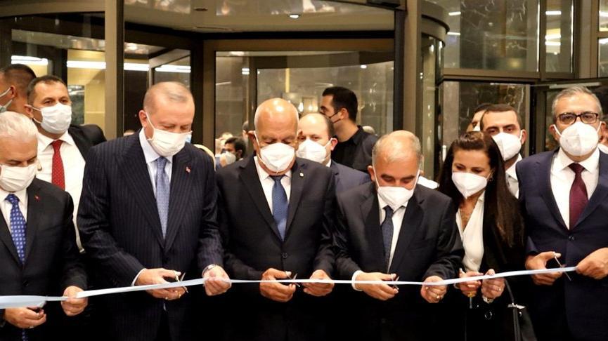 Cumhurbaşkanı Erdoğan, Mersin'de otel açtı