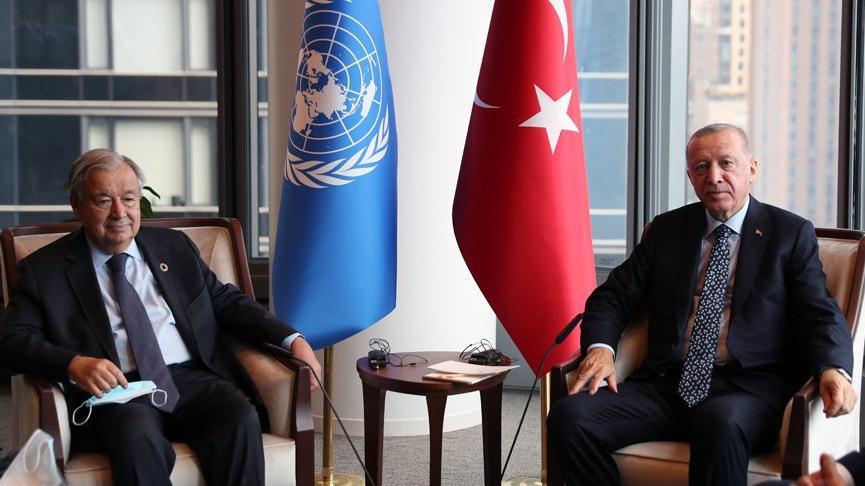 Cumhurbaşkanı Erdoğan'dan ABD'de art arda görüşmeler