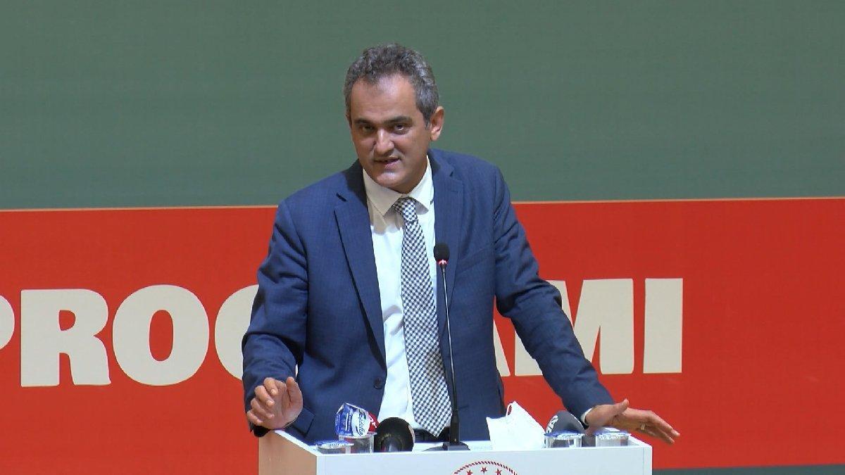 Milli Eğitim Bakanı Mahmut Özer: Okulları kapalı tutma lüksümüz yok
