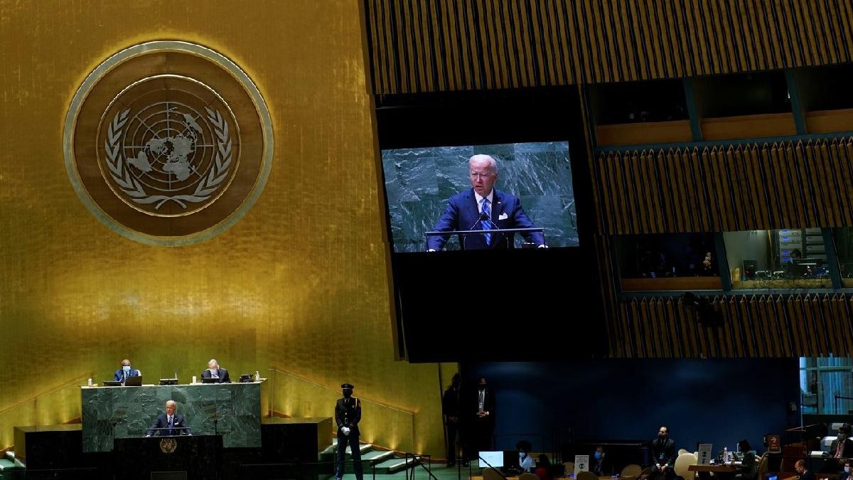 BM Genel Kurulu başladı: ABD Başkanı Biden'dan açıklama