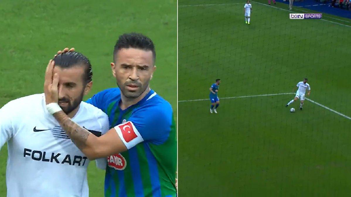 Altaylı Erhan Çelenk, Rizespor maçında Fair-Play ruhunu yaşattı: 'Helal olsun sana'