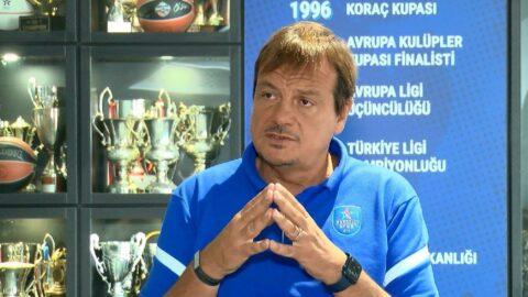 Ergin Ataman: Türkiye Ligi'nin marka değeri çok aşağı çekildi