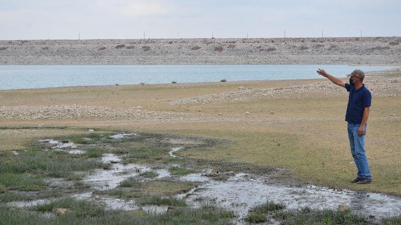 'Kanalizasyon suları, baraj göletine akıyor'