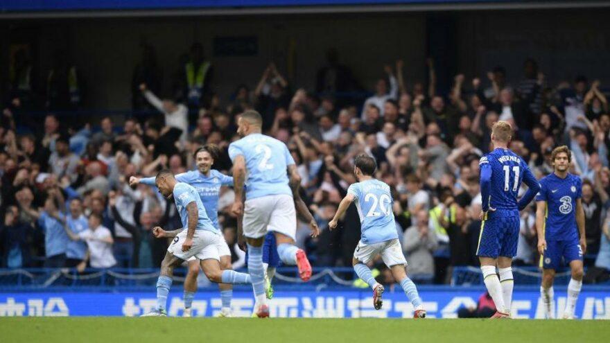 Manchester City, Chelsea'yi yenip zirveden kopmadı