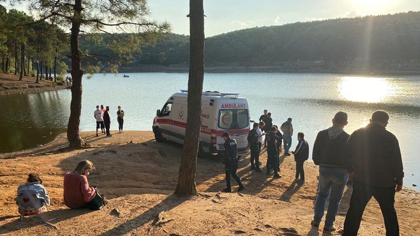 Bir kişi Aydos Göleti'nde kayboldu