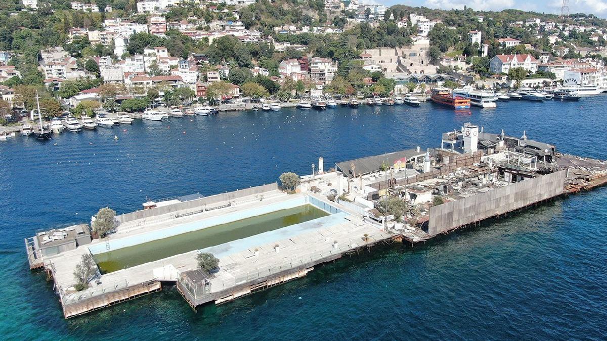 İşte Galatasaray Adası'nın son görüntüleri