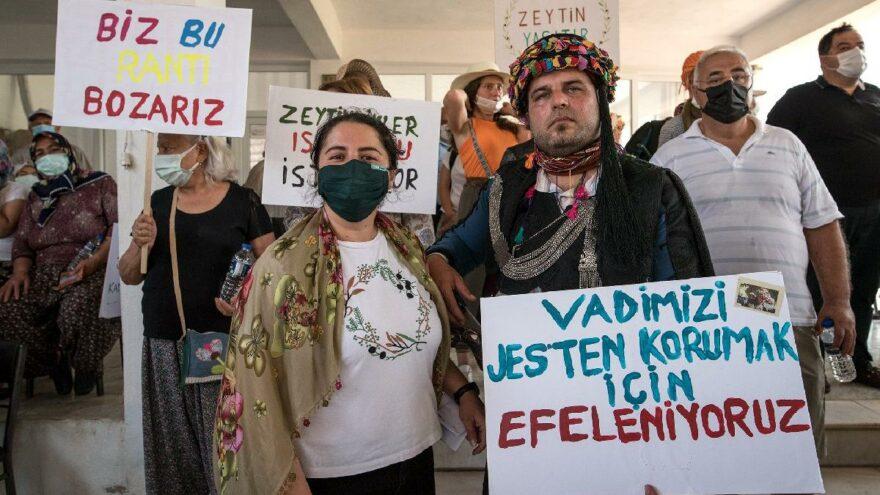 Seferihisar'da JES projesine mahkeme iptali: Zeytin ağaçları ve köylüler davayı kazandı