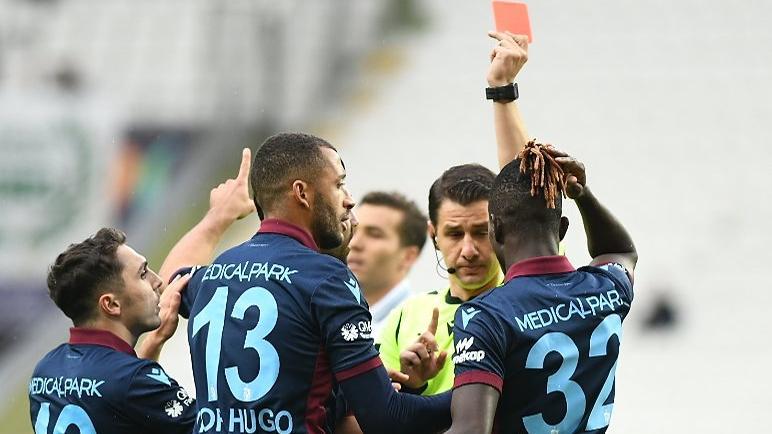 Trabzonspor 10 kişi kalsa da kaybetmiyor!
