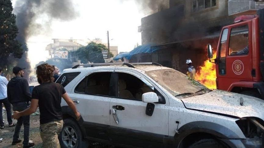 Fırat Kalkanı bölgesinde bombalı iki saldırı: 2 ölü, 19 yaralı