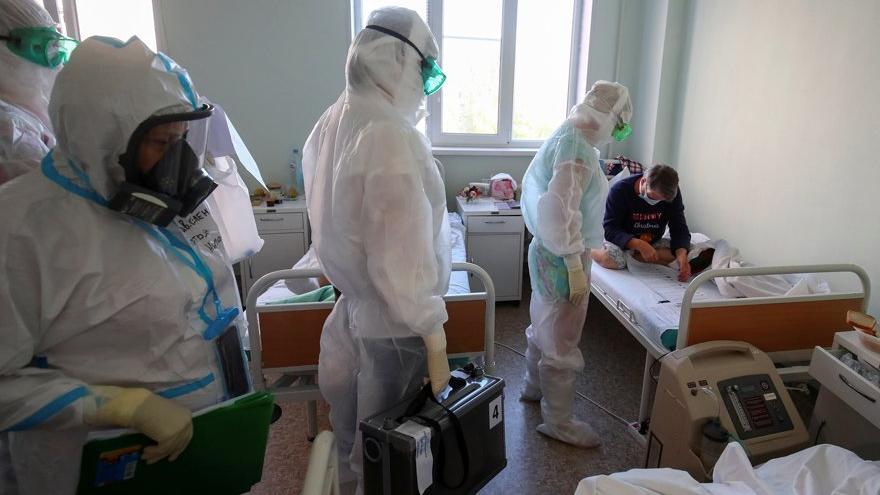Rusya'da Covid-19'dan ölüm rekoru kırıldı