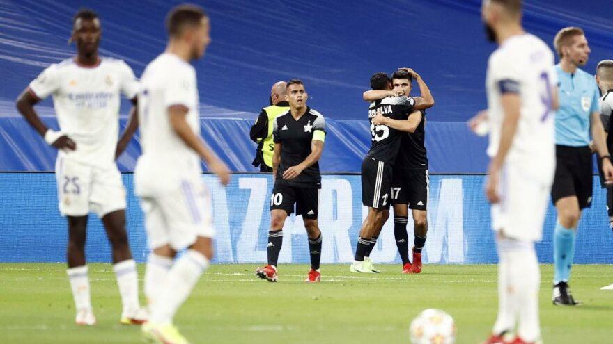20 gollü çılgın gecede Şampiyonlar Ligi'ne Sheriff Tiraspol damgası