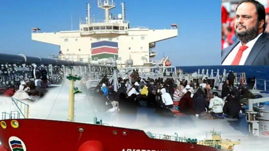 İzmir'den İtalya'ya giden göçmen teknesi Akdeniz'de battı, futbol kulübü başkanının gemisi 150 göçmeni kurtardı