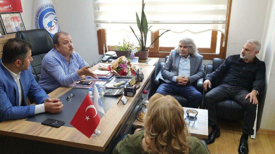 Türkiye Berberler Federasyonu Başkanı Karakaş: Can suyu kredisi istiyoruz