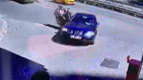 İstanbul'da bir kişinin silahla vurulması olayında kamera görüntüleri ortaya çıktı