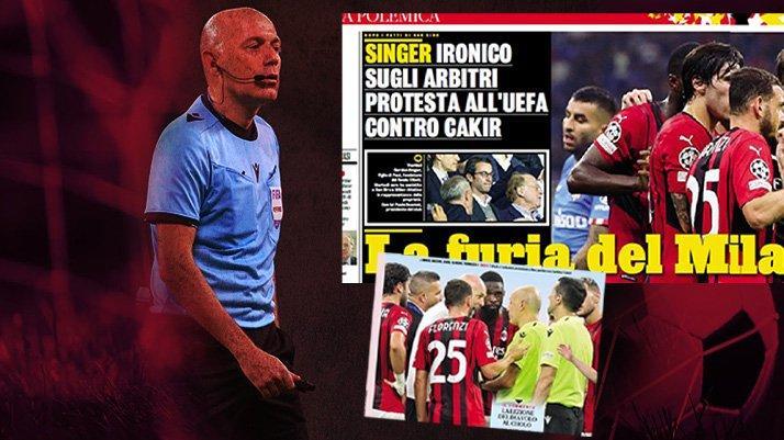 İtalya'da çok konuşulacak Cüneyt Çakır dosyası! UEFA biletini kesti…