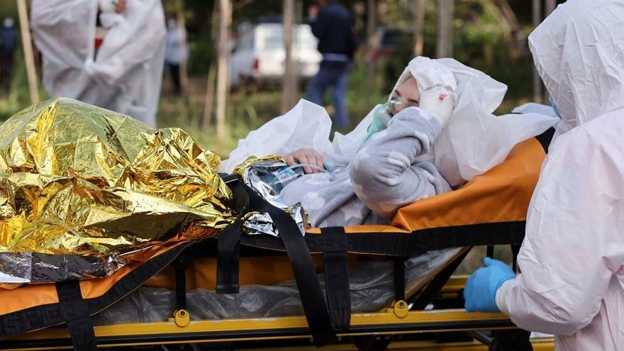 Romanya'da pandemi hastanesinde yangın: Ölü ve yaralılar var