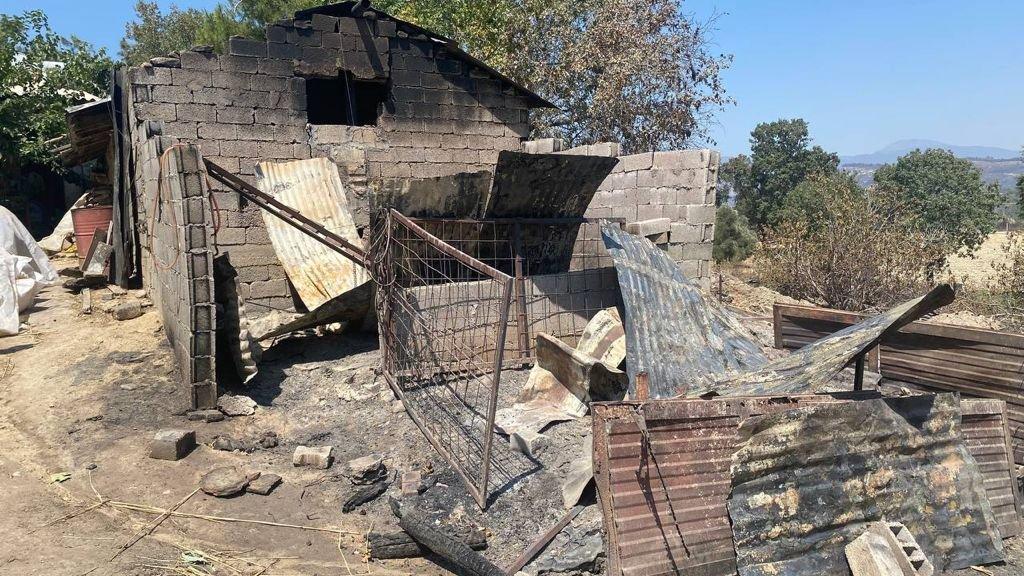 Yangın bölgesinde su borçları silindi