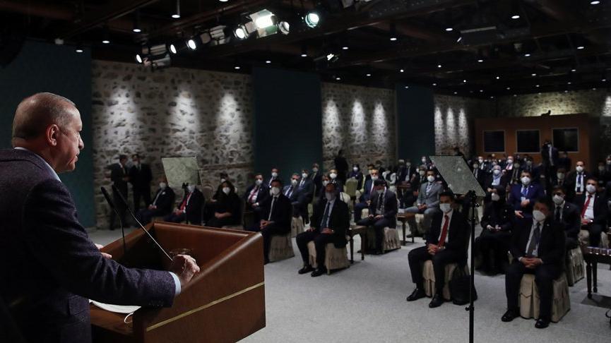 Erdoğan'dan corona virüsü açıklaması: Yavaş yavaş etkisini kaybediyor