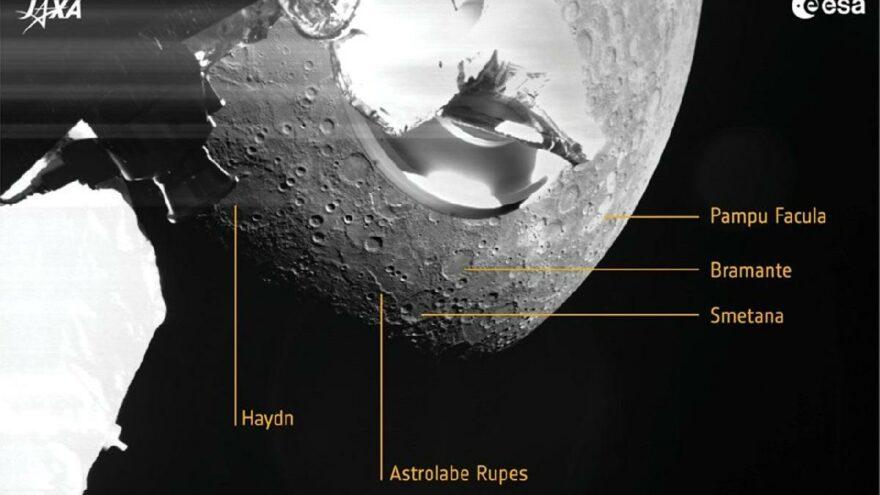 Avrupa Uzay Ajansı gönderdi! İşte Merkür'ün ilk fotoğrafları