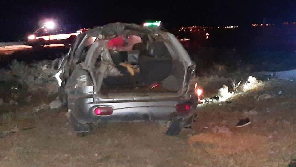14 yaşındaki sürücü kaza yaptı: 1 ölü, 4 yaralı