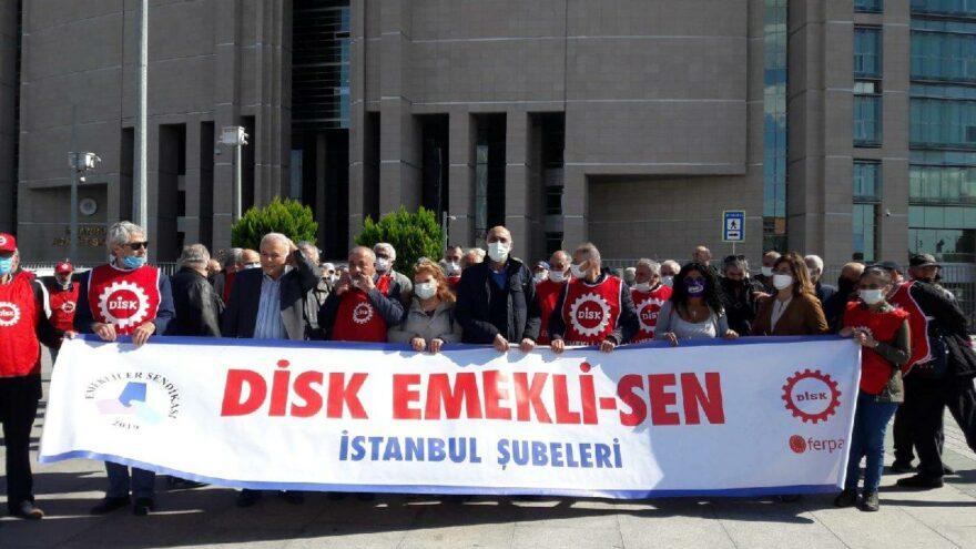 DİSK Emekli-Sen'in kapatılma kararı istinafta onandı