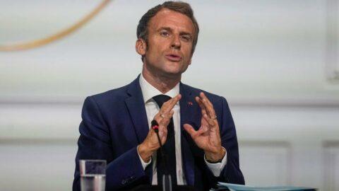Macron'dan Taliban açıklaması: Şartları belli etmek gerek