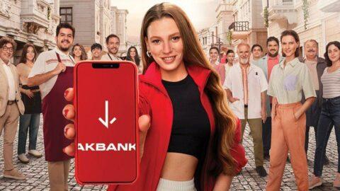 Serenay Sarıkaya Akbank'ın yeni reklam yüzü oldu