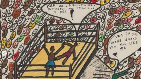 Muhammed Ali'nin çizimleri 1 milyon dolara satıldı