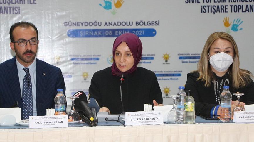 AKP'li Usta: Bugün ülkemizde Kürt sorunu yoktur