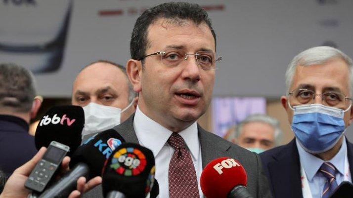 İmamoğlu'ndan 'TRT Spor' tepkisi