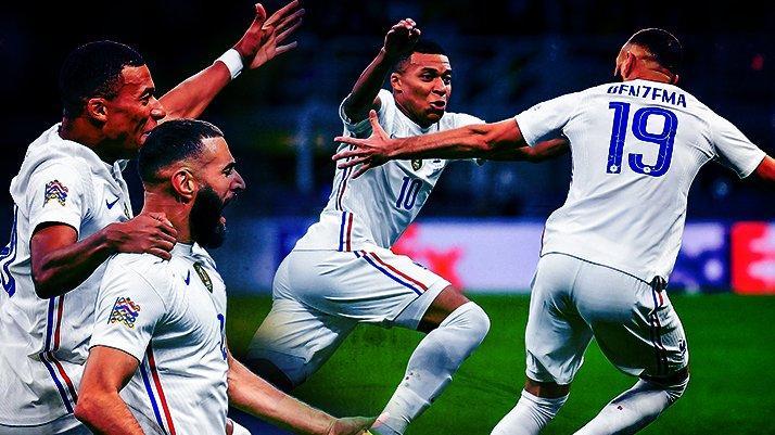 Uluslar Ligi Finali'nde şampiyon Fransa! İspanya karşısında müthiş geri dönüş…