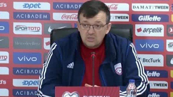 Letonya Teknik Direktörü Kazakevics: Türkiye'nin grup içerisindeki durumunu takip etmiyoruz