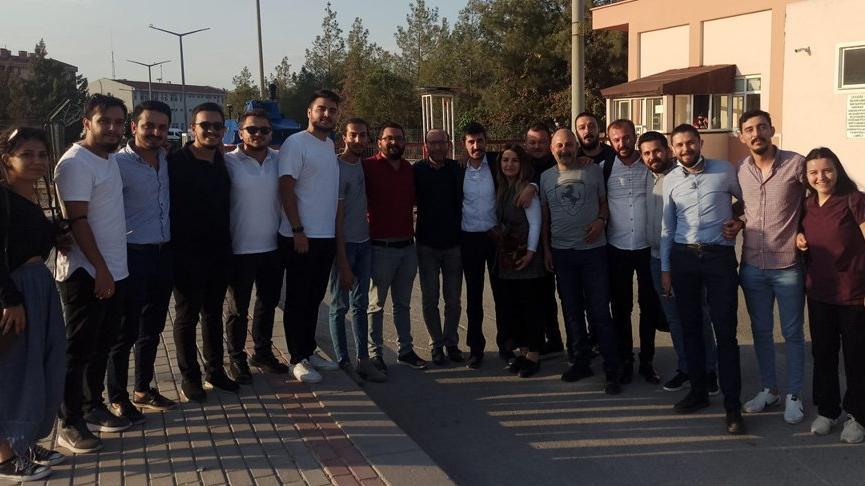 CHP Gençlik Kolları Başkanı Odabaşıoğlu serbest bırakıldı