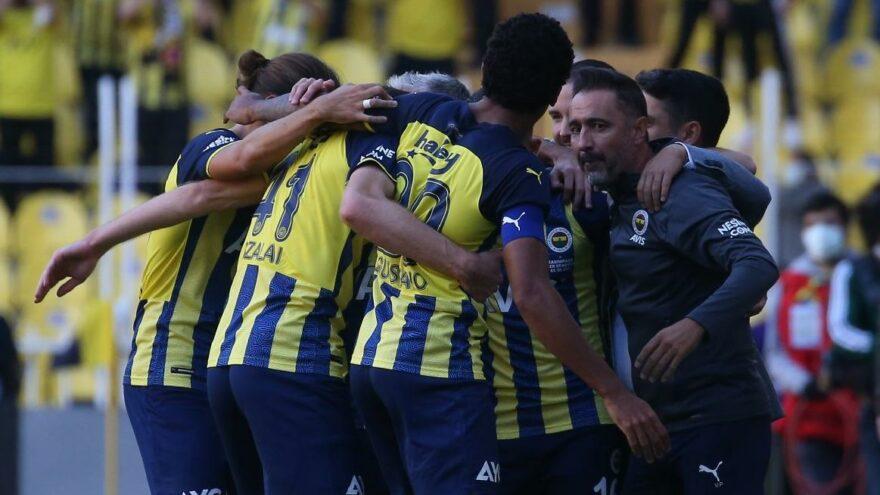Fenerbahçe'nin ilginç istatistiği: Az gol çok iş