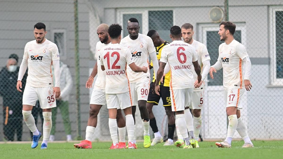 Galatasaray'dan İstanbulspor'la gollü prova: 3-3