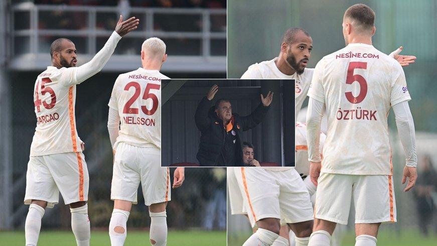Galatasaray'da Marcao ve Alpaslan Öztürk tartışması