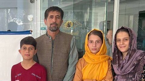 Biden'ın hayatını kurtaran Afgan tercüman Khalili Taliban'dan kaçmayı başardı