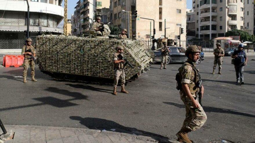 Çatışmaların ardından Lübnan'da ulusal yas ilan edildi, 9 kişi gözaltına alındı