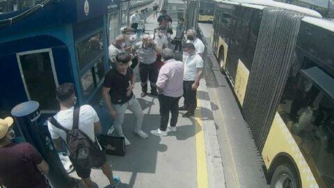 Metrobüste maske kavgasında kör eden şahsa 4 yıl hapis istendi