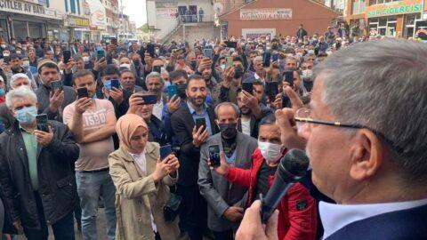 Ahmet Davutoğlu: Değişim yakın çare seçim!