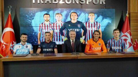 Trabzonspor 4 futbolcusuyla sözleşme yenildi