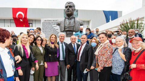 Mustafa Necati'nin torunundan İzmir Büyükşehir Belediyesi'ne teşekkür