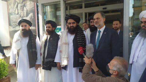Taliban heyeti Kızılay'dan yardım istedi